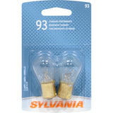 2-PK SYLVANIA 93 Basic Automotive Light Bulb