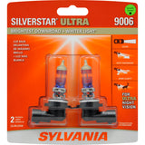 2-PK SYLVANIA 9006 SilverStar Ultra High Performance Halogen Headlight Bulb