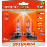2-PK SYLVANIA 9005 SilverStar Ultra High Performance Halogen Headlight Bulb