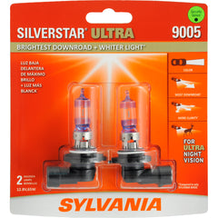 2-PK SYLVANIA 9005 HB3 SilverStar Ultra High Performance Halogen Headlight Bulb