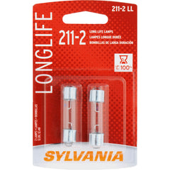 2-PK SYLVANIA 211-2 Long Life Automotive Light Bulb