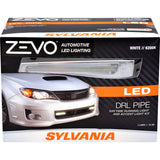 1-PK SYLVANIA ZEVO Light Pipe Style LED Daytime Running Light Accent Kit