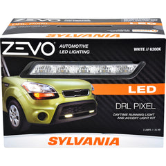 1-PK SYLVANIA ZEVO Pixilated Style LED Daytime Running Light Accent Kit