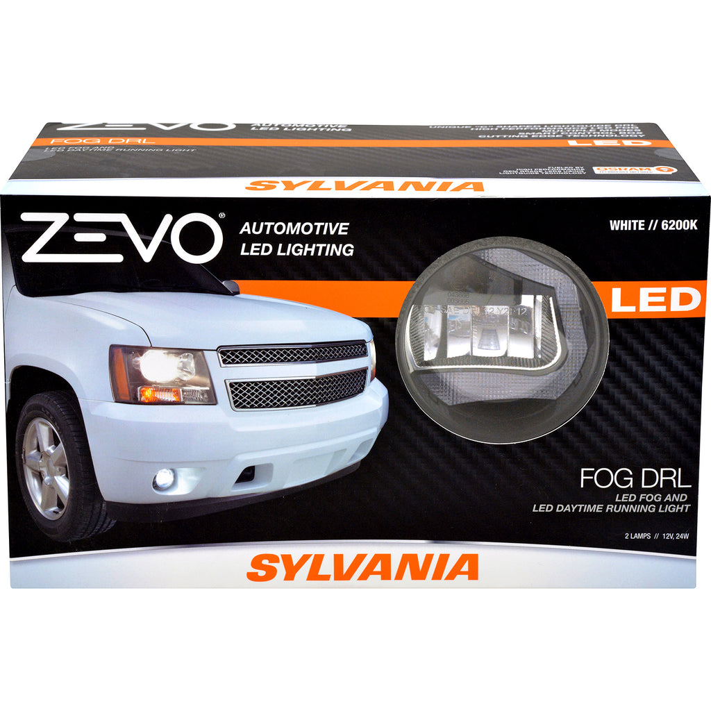 1-PK SYLVANIA Zevo Daytime Running Fog Light Kit