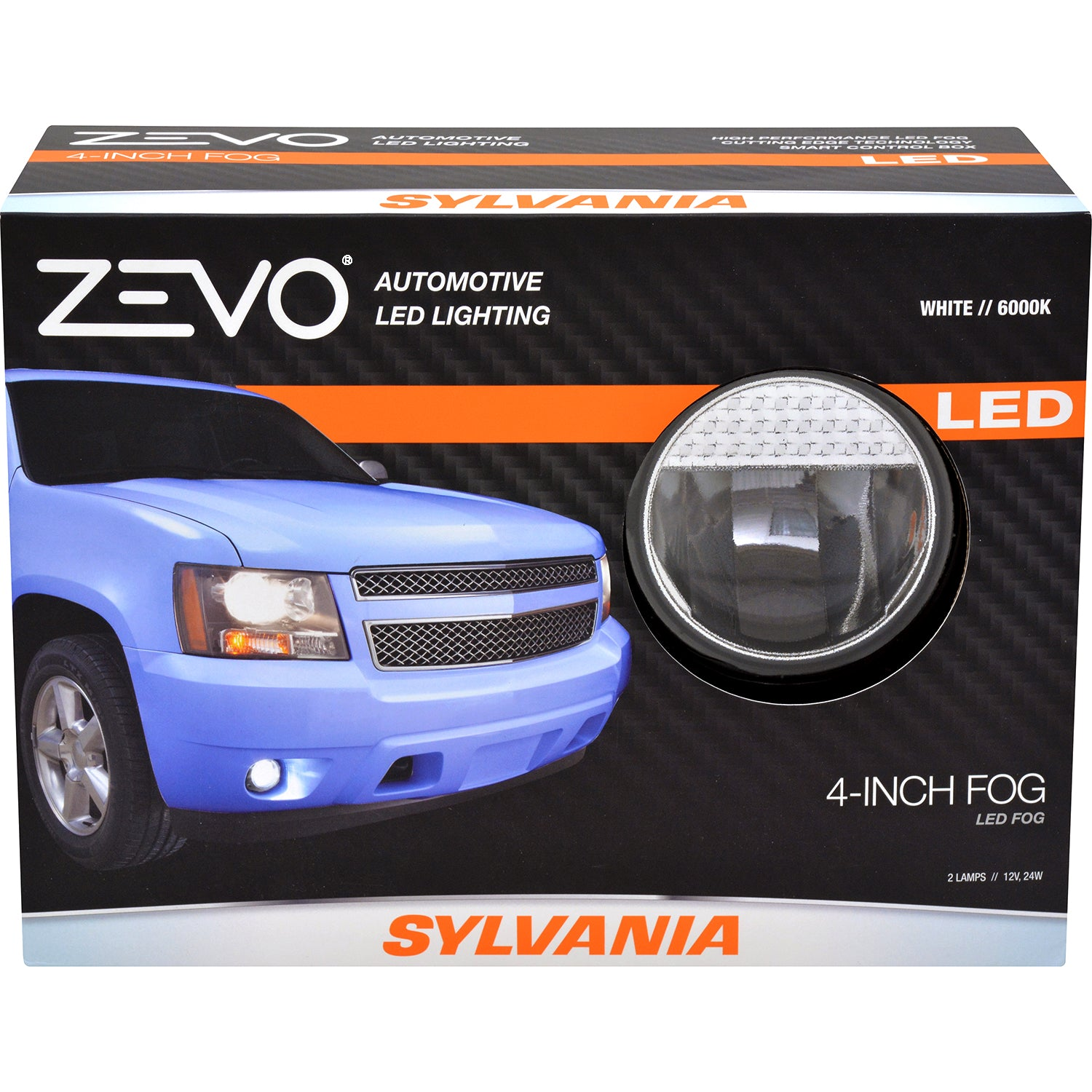 "SYLVANIA Zevo 4"" Round LED Fog Automotive Light"