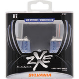 2-PK SYLVANIA H7 SilverStar zXe High Performance Halogen Headlight Bulb