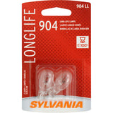 2-PK SYLVANIA 904 Long Life Automotive Light Bulb