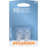 2-PK SYLVANIA 912 Basic Automotive Light Bulb