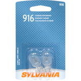 2-PK SYLVANIA 916 Basic Automotive Light Bulb
