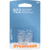 2-PK SYLVANIA 922 Basic Automotive Light Bulb