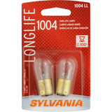2-PK SYLVANIA 1004 Long Life Automotive Light Bulb