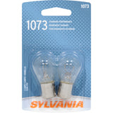 2-PK SYLVANIA 1073 7506 Basic Automotive Light Bulb
