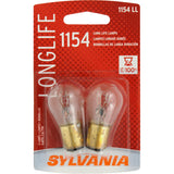 2-PK SYLVANIA 1154 Long Life Automotive Light Bulb