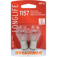2-PK SYLVANIA 1157 Long Life Automotive Light Bulb