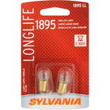 2-PK SYLVANIA 1895 Long Life Automotive Light Bulb