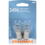 2-PK SYLVANIA 3496 Basic Automotive Light Bulb