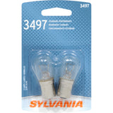 2-PK SYLVANIA 3497 Basic Automotive Light Bulb
