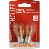 2-PK SYLVANIA 2357A Long Life Automotive Light Bulb