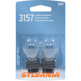 2-PK SYLVANIA 3157 Basic Automotive Light Bulb