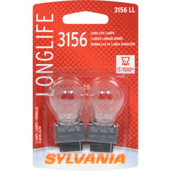 2-PK SYLVANIA 3156 Long Life Automotive Light Bulb