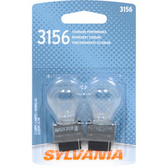 2-PK SYLVANIA 3156 Basic Automotive Light Bulb