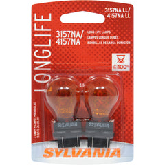 2-PK SYLVANIA 3157NA/4157NA Long Life Automotive Light Bulb