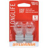 2-PK SYLVANIA 3357/3457 Long Life Automotive Light Bulb