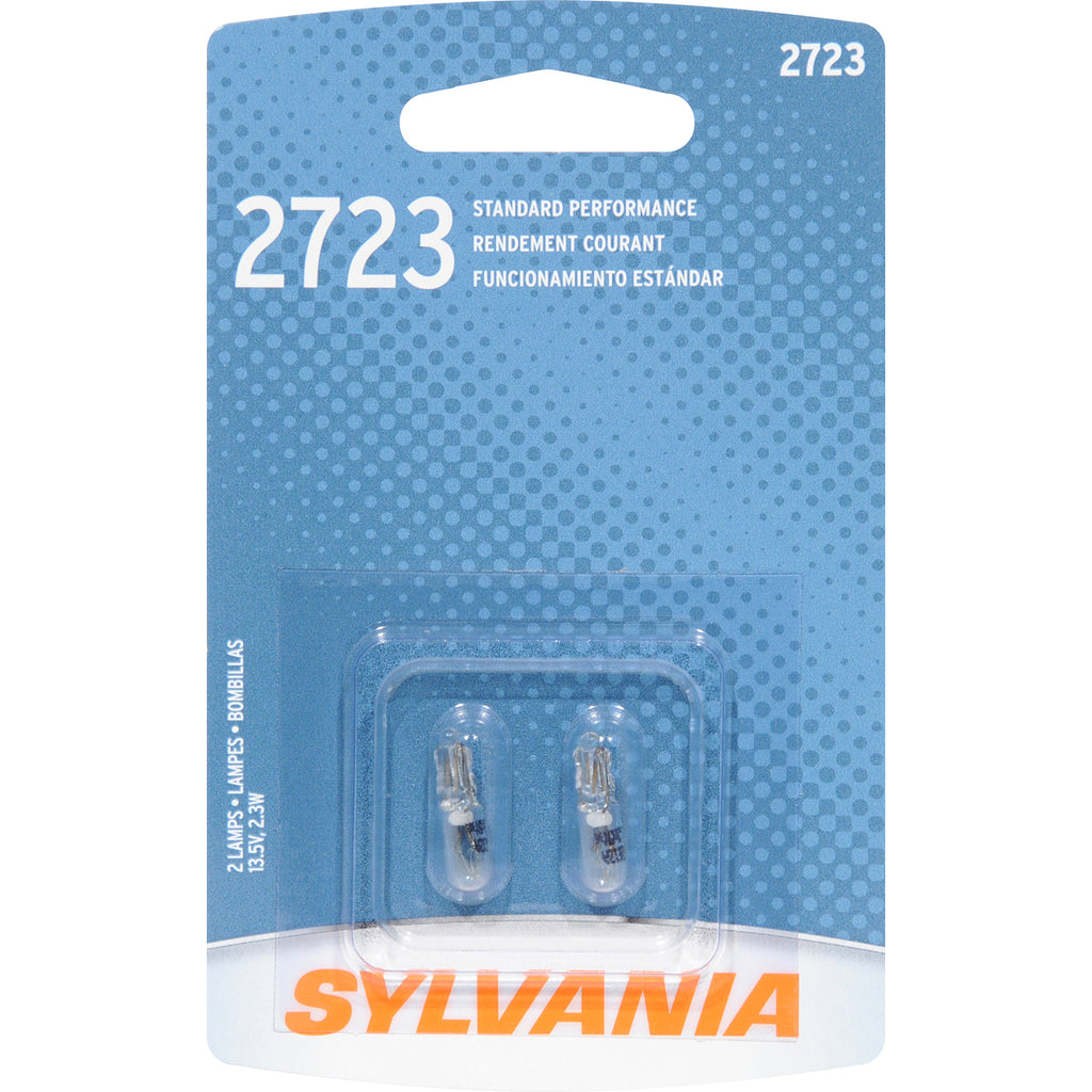 2-PK SYLVANIA 2723 Basic Automotive Light Bulb
