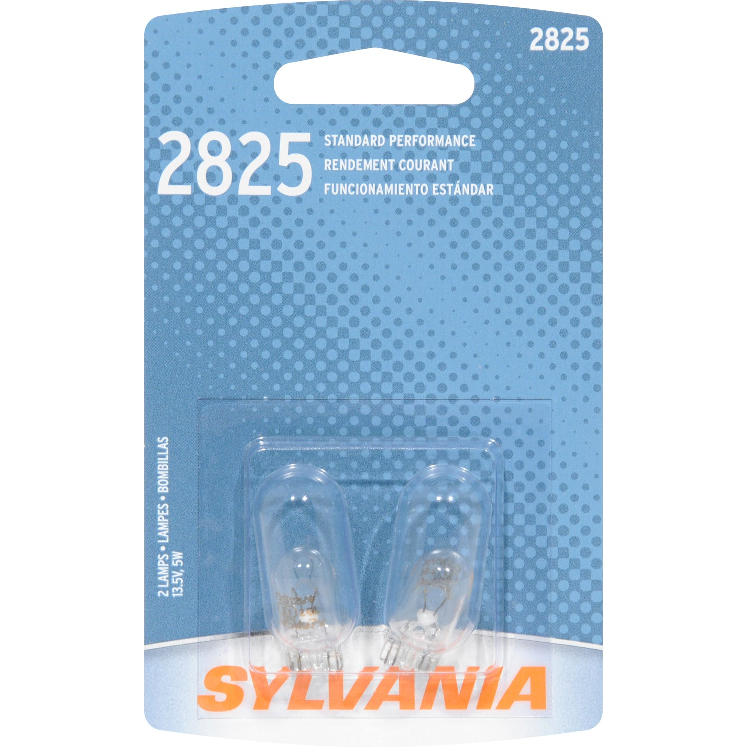 2-PK - SYLVANIA 2825 Basic Automotive Light Bulb
