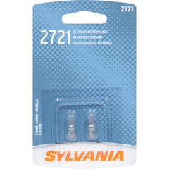 2-PK SYLVANIA 2721 Basic Automotive Light Bulb