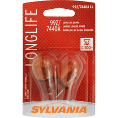 2-PK SYLVANIA 7440A Long Life Automotive Light Bulb