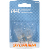 2-PK SYLVANIA 7440 Basic Automotive Light Bulb