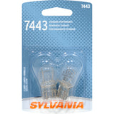 2-PK SYLVANIA 7443 Basic Automotive Light Bulb