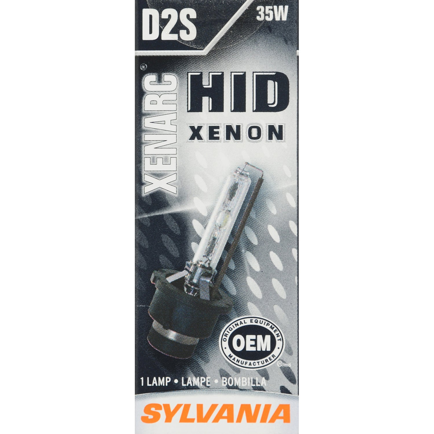 SYLVANIA D2S High Intensity Discharge HID Automotive Bulb