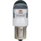2-PK SYLVANIA ZEVO 1156 Amber LED Automotive Bulb_2