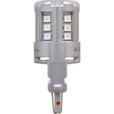 2-PK SYLVANIA 3047 Amber LED Automotive Bulb_3