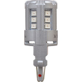2-PK SYLVANIA 3047 Red LED Automotive Bulb_3