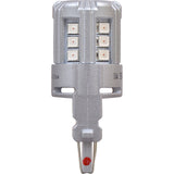 2-PK SYLVANIA 3057 Amber LED Automotive Bulb_3