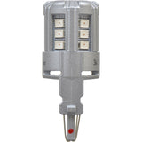 2-PK SYLVANIA 3156 Red LED Automotive Bulb_3