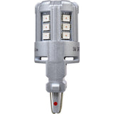 2-PK SYLVANIA 3157 Amber LED Automotive Bulb_3