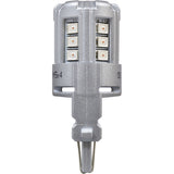 2-PK SYLVANIA 3157 Red LED Automotive Bulb - BulbAmerica