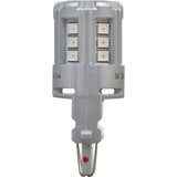 2-PK SYLVANIA 3457 Amber LED Automotive Bulb_3