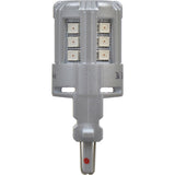 2-PK SYLVANIA 4057 Red LED Automotive Bulb_3