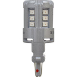 2-PK SYLVANIA 4114 Red LED Automotive Bulb_3