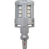 2-PK SYLVANIA 4157 Red LED Automotive Bulb_3
