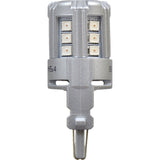 2-PK SYLVANIA 4157 Red LED Automotive Bulb - BulbAmerica