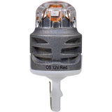 2-PK SYLVANIA ZEVO 7440 T20 Red LED Automotive Bulb_3