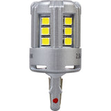 2-PK SYLVANIA 7443 T20 White LED Automotive Bulb - BulbAmerica