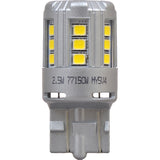 2-PK SYLVANIA 7444 T20 White LED Automotive Bulb_2