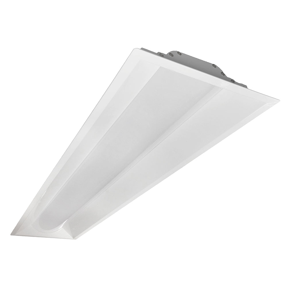 NICOR 1x4 T3A Architectural LED Troffer in 3500K